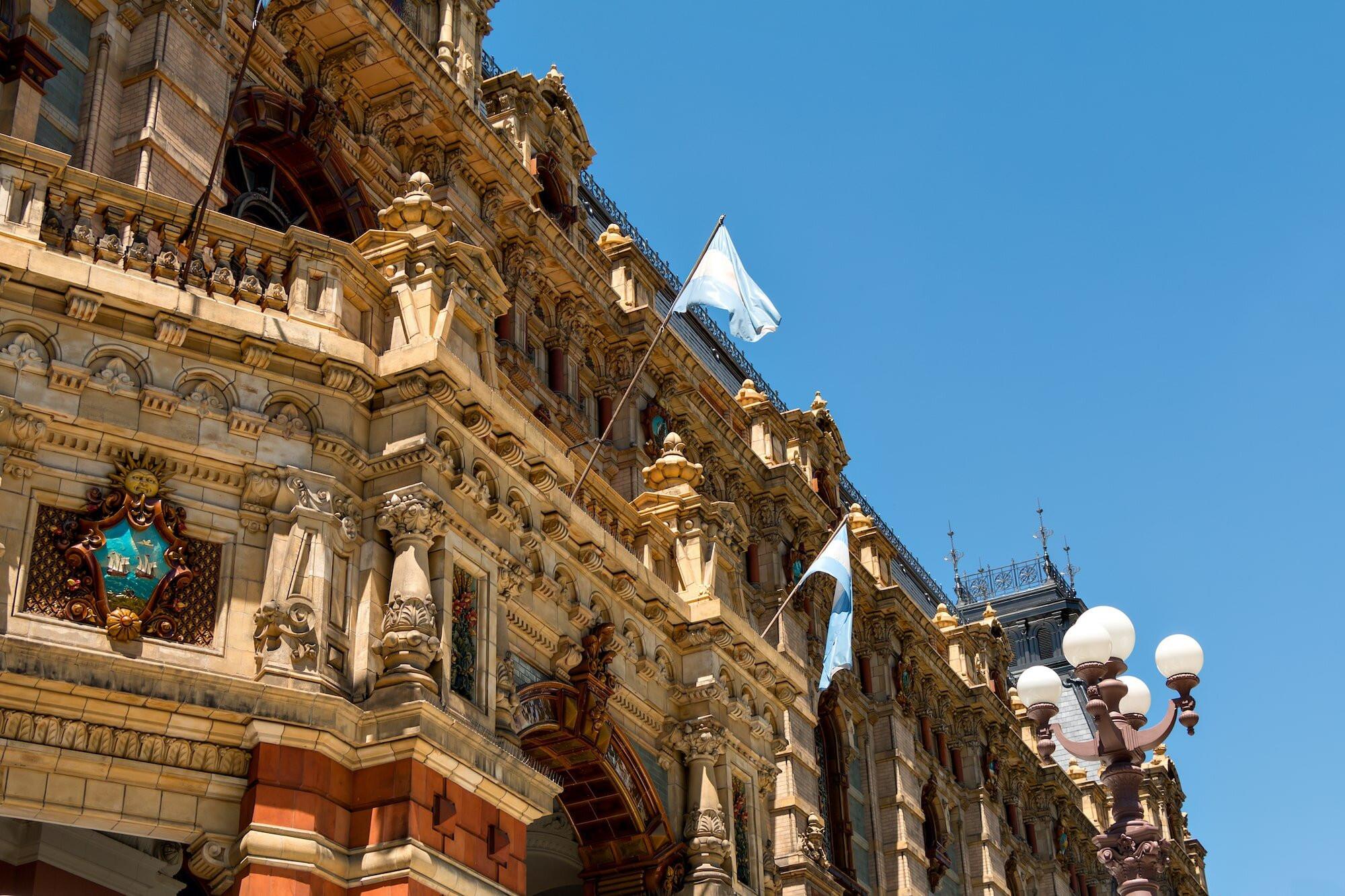 Impressive architecture in Buenos Aires