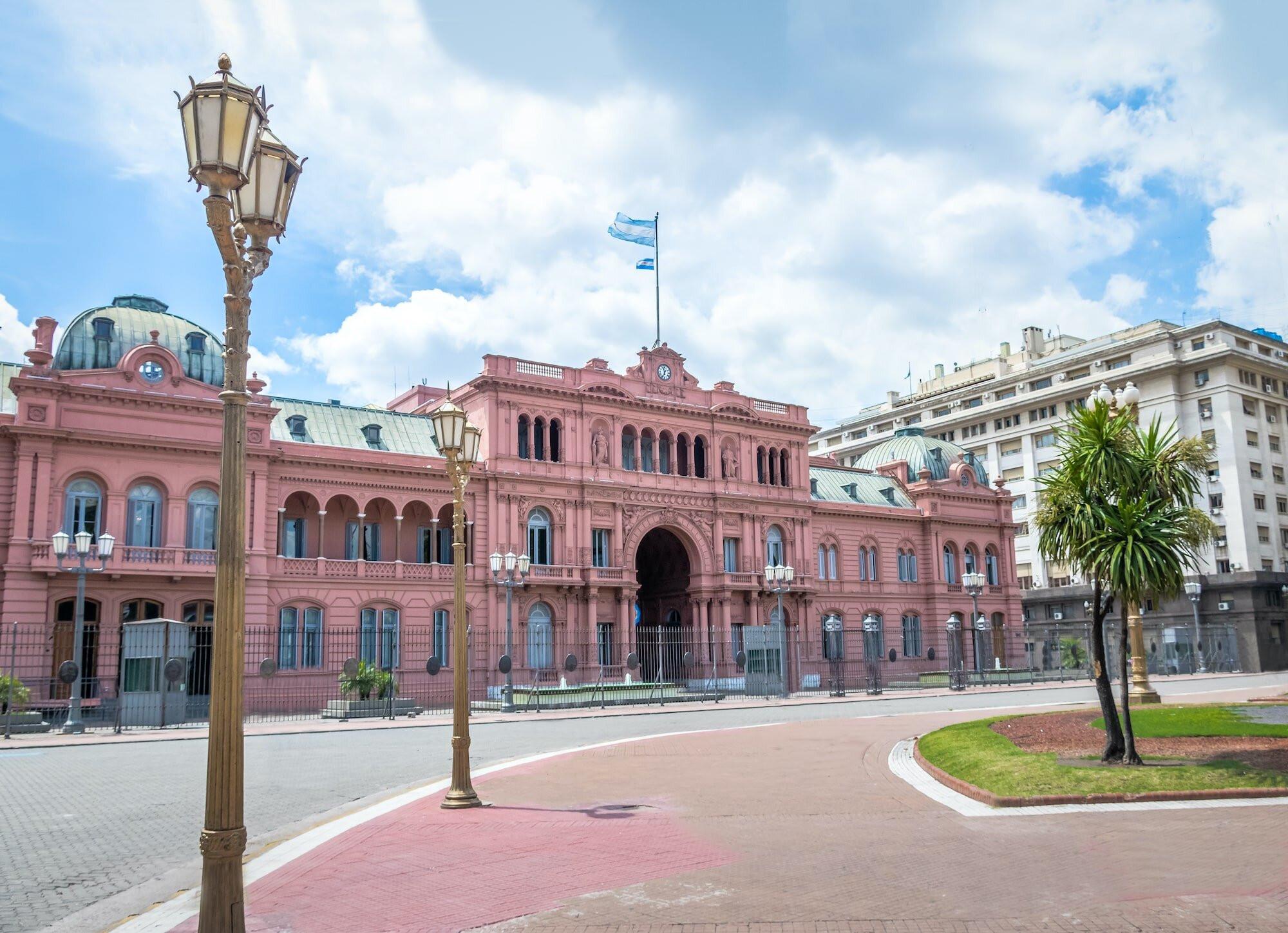 Casa Rosada in Buenos Aires