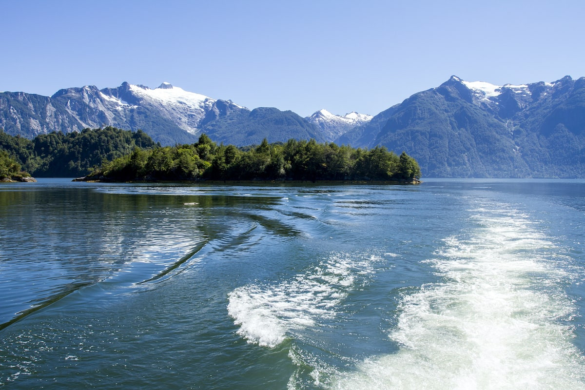 View of the Chilean Fjords