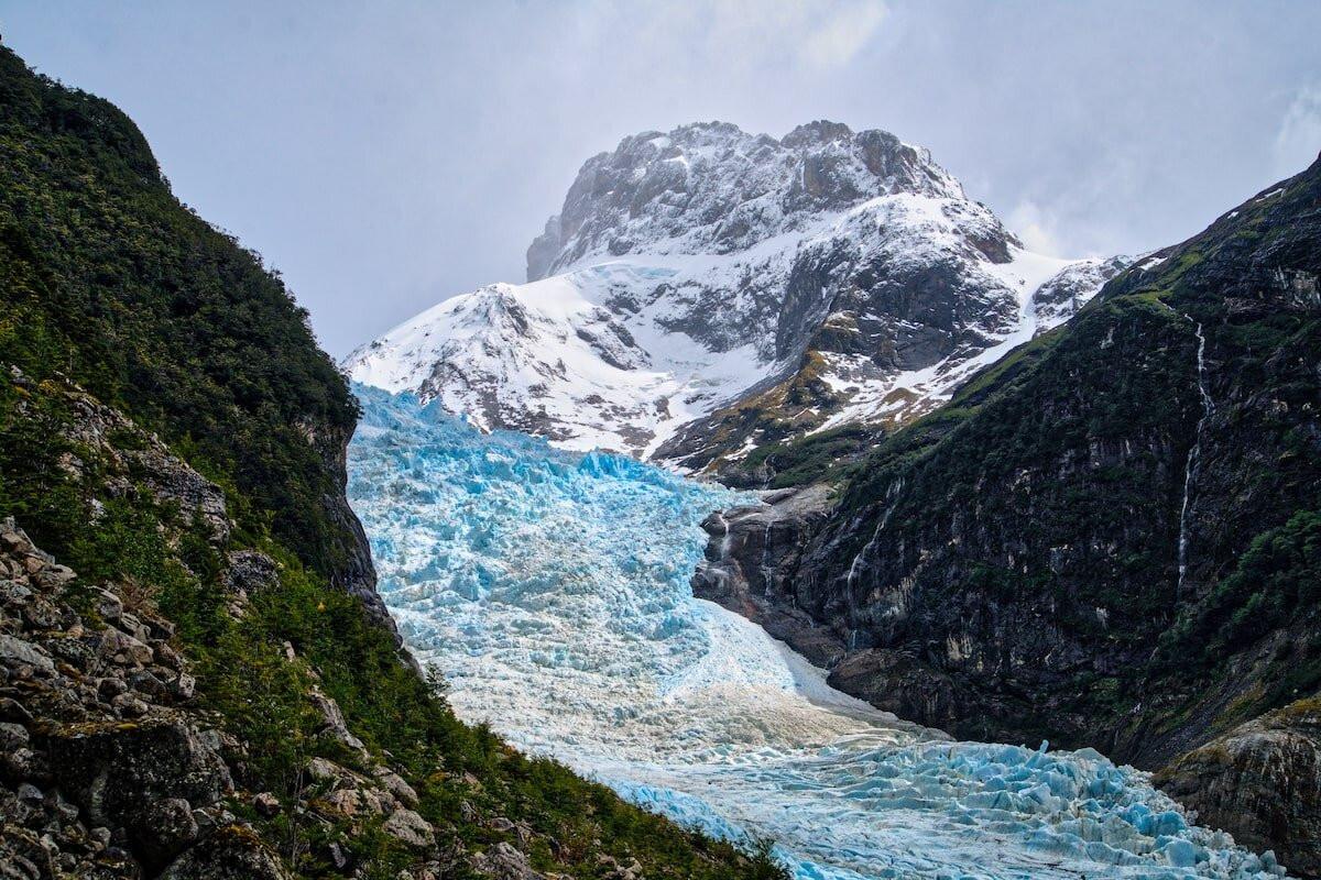 Glacier in the Fjords
